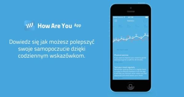 How Are You – aplikacja pomagająca ludziom w depresji