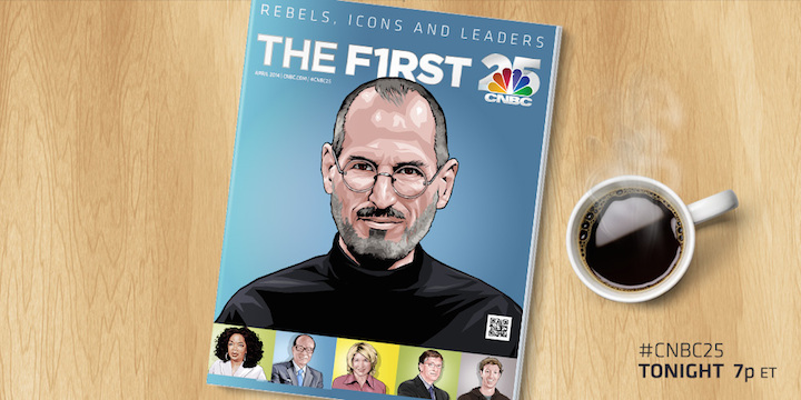 Steve Jobs 25 lat CNBC