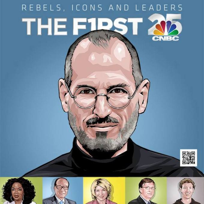 The First 25 CNBC - rebels, icons and leaders
