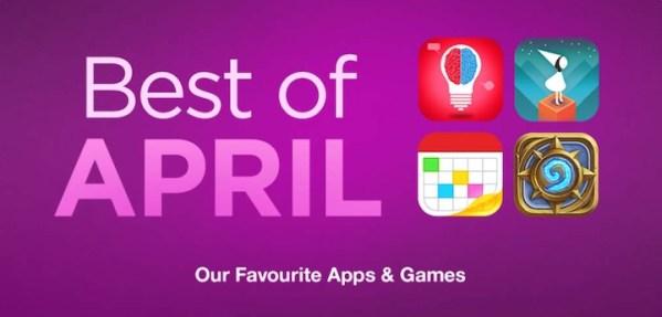 Best of April – najlepsze gry i aplikacje w App Storze