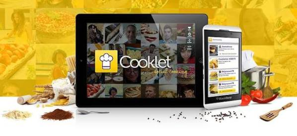 Cooklet na podium Samsung Smart App Challenge 2013 for Galaxy Note