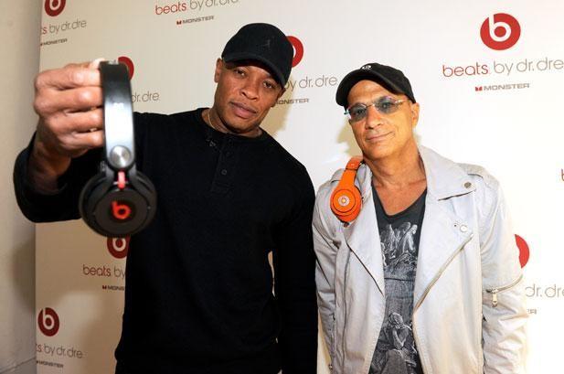 Dr. Dre i Jimmy Iovine - założyciele Beats Electronics.