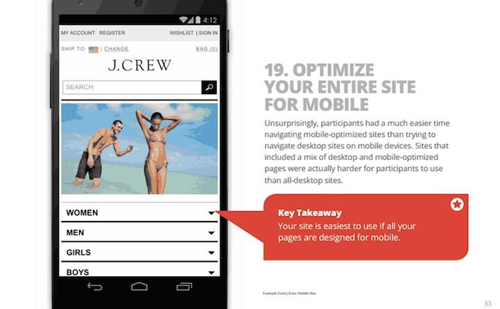 Optymalizacja strony pod kątem mobile'a