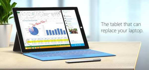 Surface Pro 3 – tablet Microsoftu z Windows 8.1