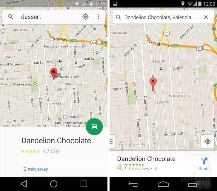 Nowe Google Maps