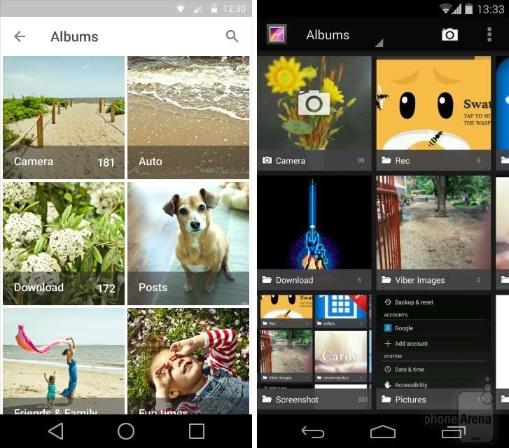 Nowa galeria zdjęć na Androidzie