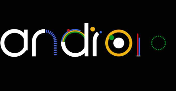 logo - Android L - animacja