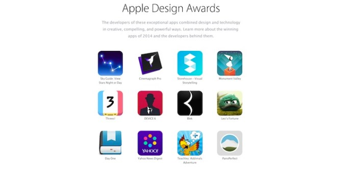 Apple Design Awards 2014