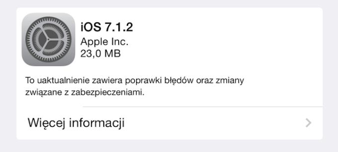 iOS 7.1.2