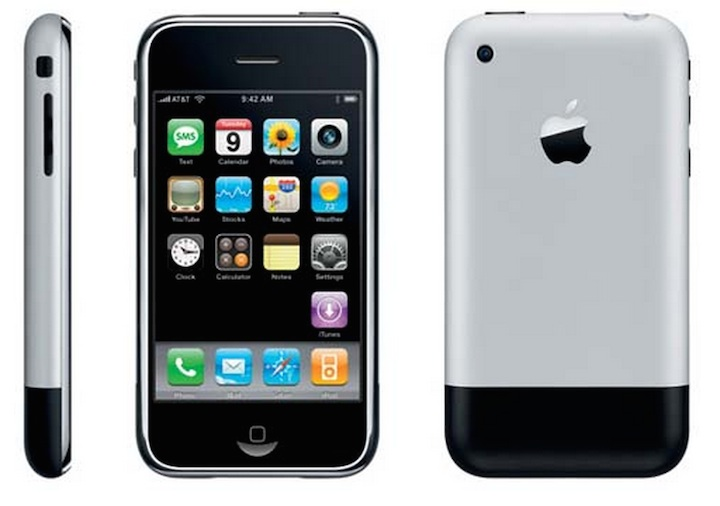 iPhone 2 G (29 czerwca 2007)