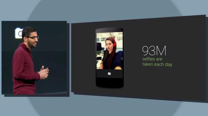 93 miliony selfies wykonanych urządzeniem z Androidem