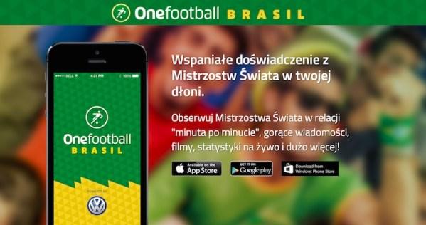 Onefootball Brasil – Mundial w smartfonie