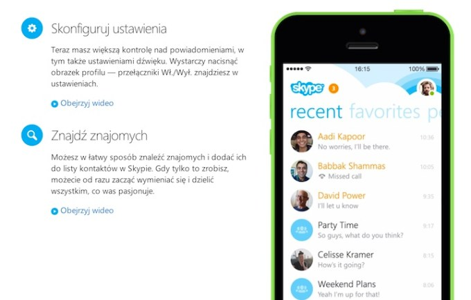 Skype 5.0 na iPhone'a