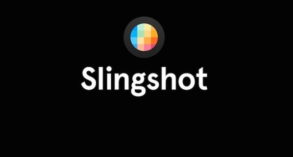 Slingshot – nowa aplikacja Facebooka