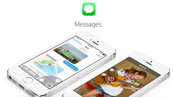 Aplikacja wiadomości w iOS 8