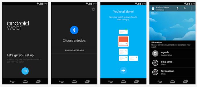 Android Wear - oficjalna aplikacja Google'a
