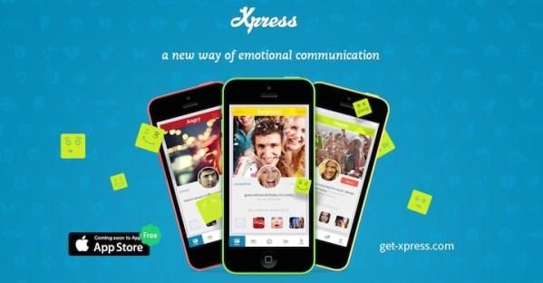 Xpress – aplikacja pozwalająca na dzielenie się emocjami