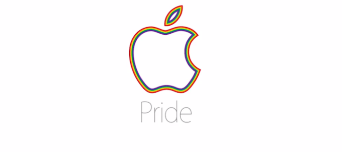 Logo Apple - Pride LGBT