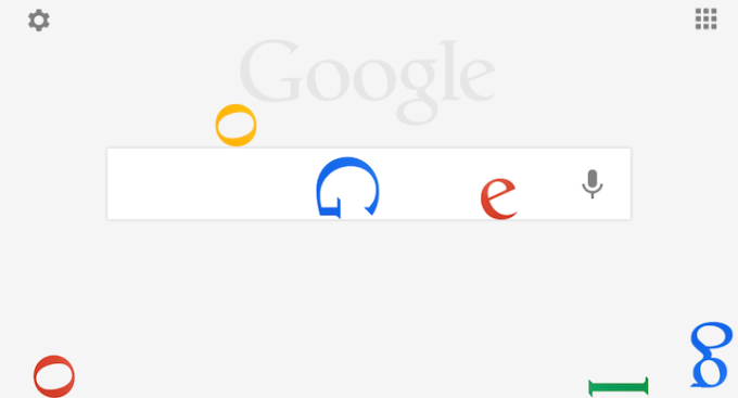 Google na iOS-a easter egg