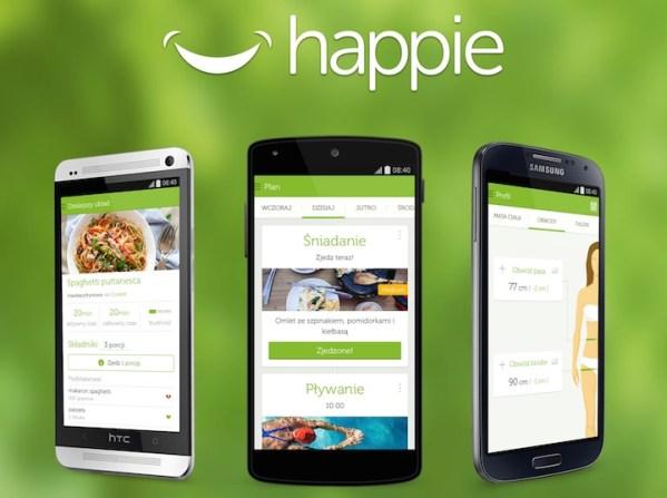 Happie – aplikacja dla odchudzających