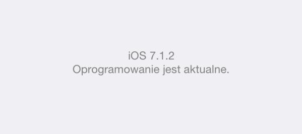 Czy warto instalować iOS 7.1.2 na iPhone'ie 5?