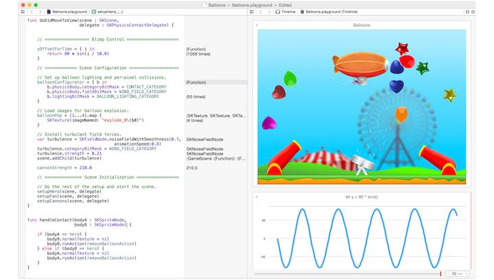 Język programowania Swift.