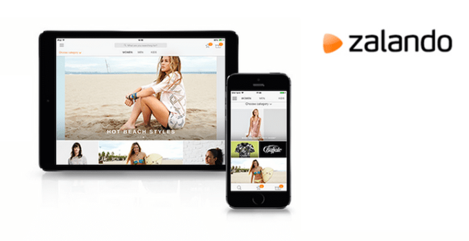 Zalando - aplikacje mobilne