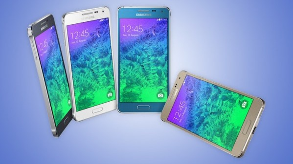 Samsung Galaxy Alpha gotowy do walki z iPhone'em 6
