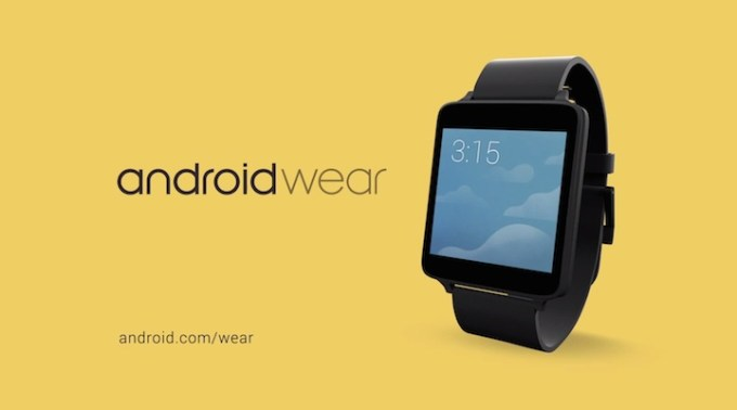 "Android Wear ""at a glance"""