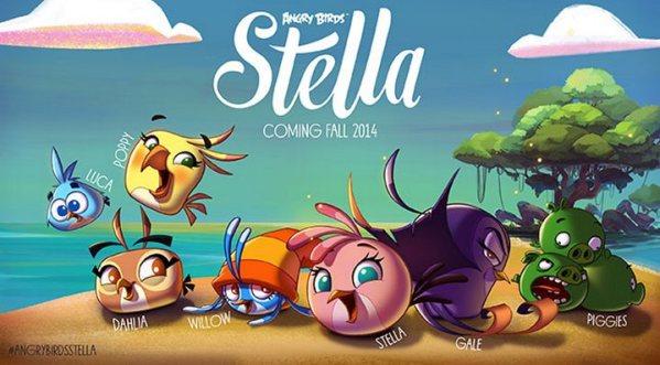 Angry Birds Stella już 4 września