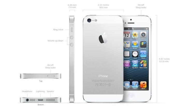 iPhone 5 - parametry techniczne