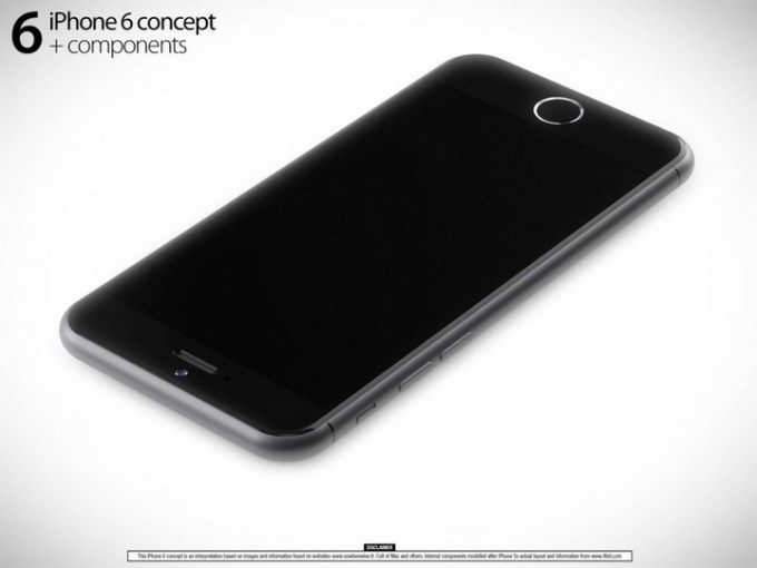 Koncept iPhone 6 Martin Hajek (przód)