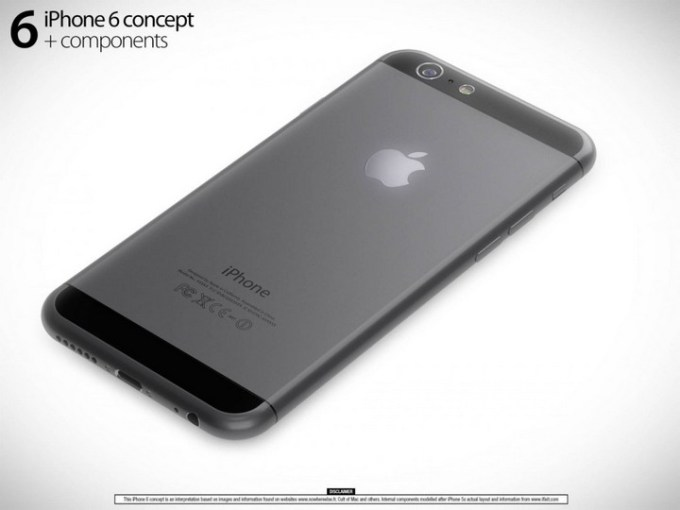Koncept iPhone 6 Martin Hajek (tył)