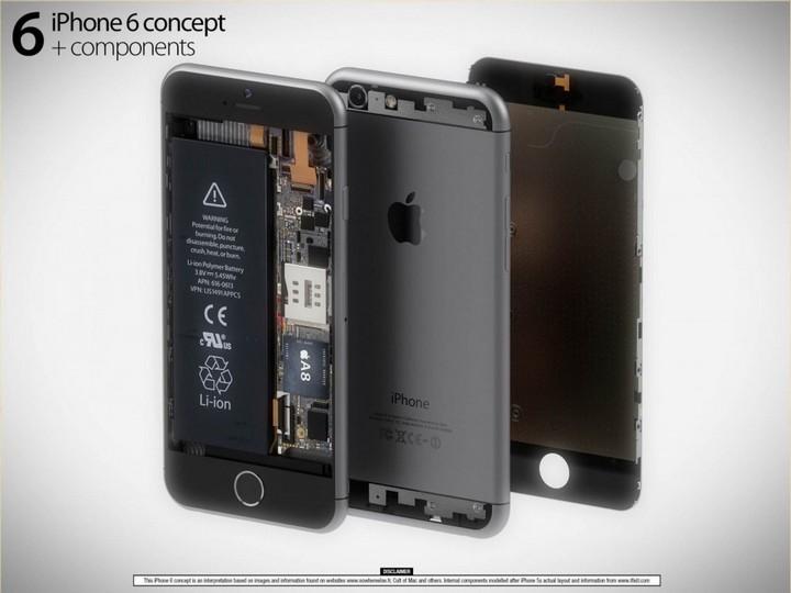 Koncept iPhone 6 Martin Hajek