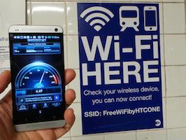Darmowe wi-fi w metrze