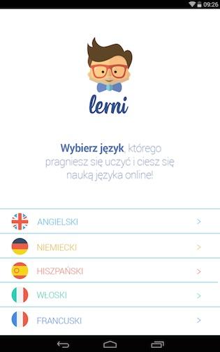 Aplikacja Lerni