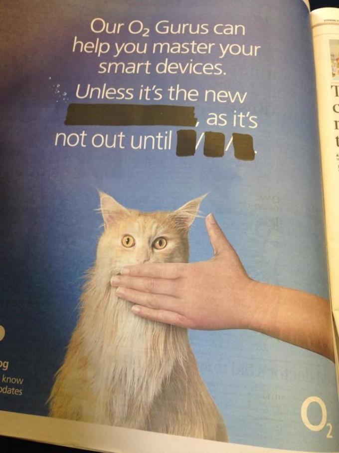 O2 zapowiada iPhone'a 6 w zabawnej reklamie
