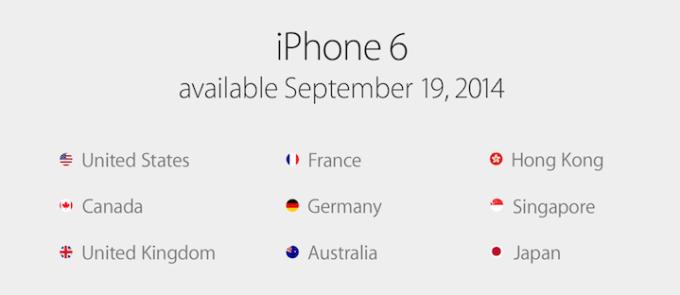 Dostępność iPhone'a 6