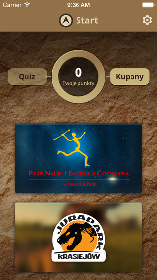 Aplikacja mobilna Paleotest