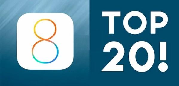 TOP 20 funkcji systemu iOS 8 (wideo)