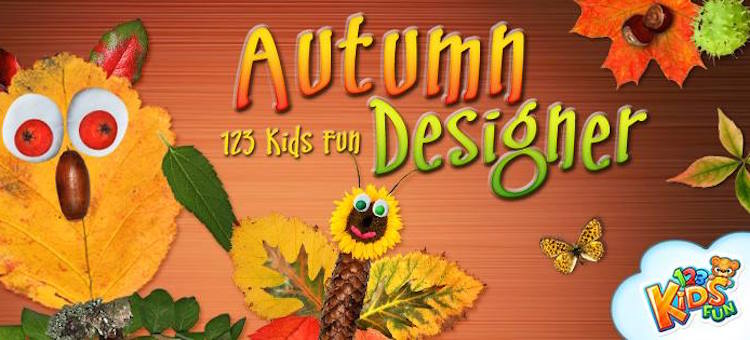 123 Kids Fun Autumn Designer - iOS and Android app for kids