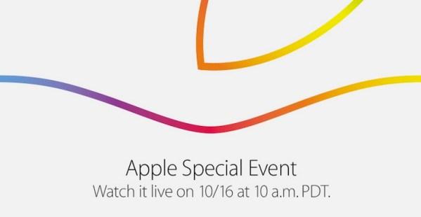 Październikowa konferencja Apple'a na żywo