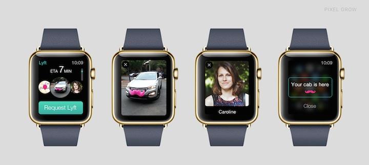 Lyft na Apple Watch