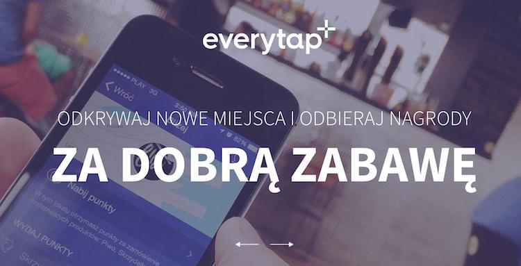 Everytap - aplikacja wykorzystująca beacony