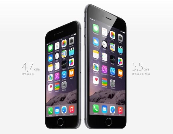 Większy iPhone 6 Plus sprzedaje się lepiej
