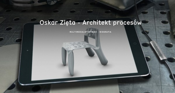 Mobilna biografia Oskara Zięty