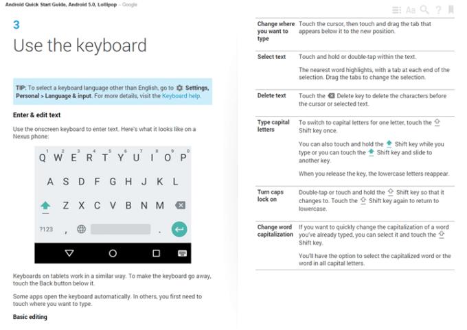 Przykładowy rozdział z przewodnika po systemie Android 5.0 Lollipop