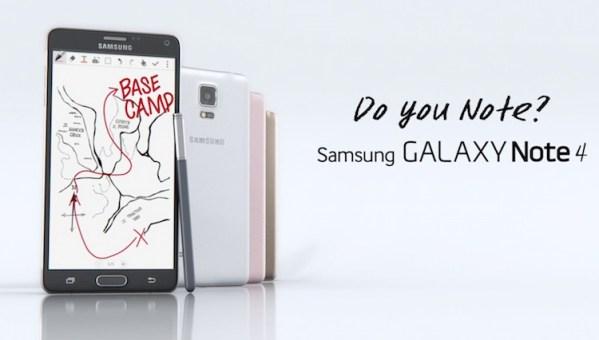 Nowe reklamy Samsunga GALAXY Note 4