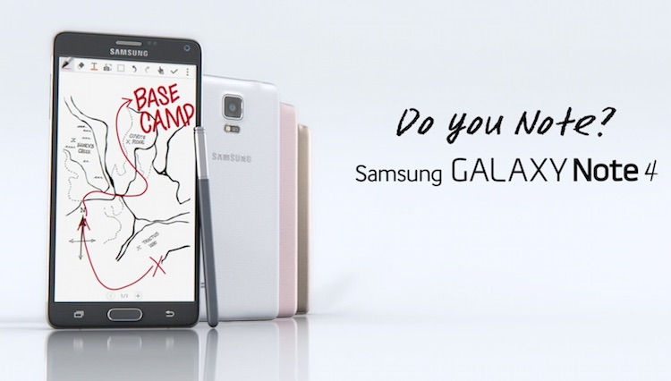 Samsung GALAXY Note 4 Do you note?