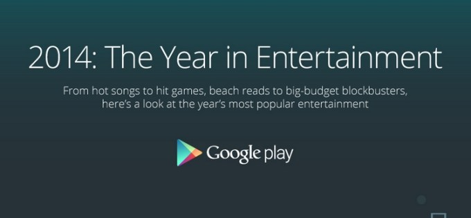 2014: Year in Entertainment - Google Play